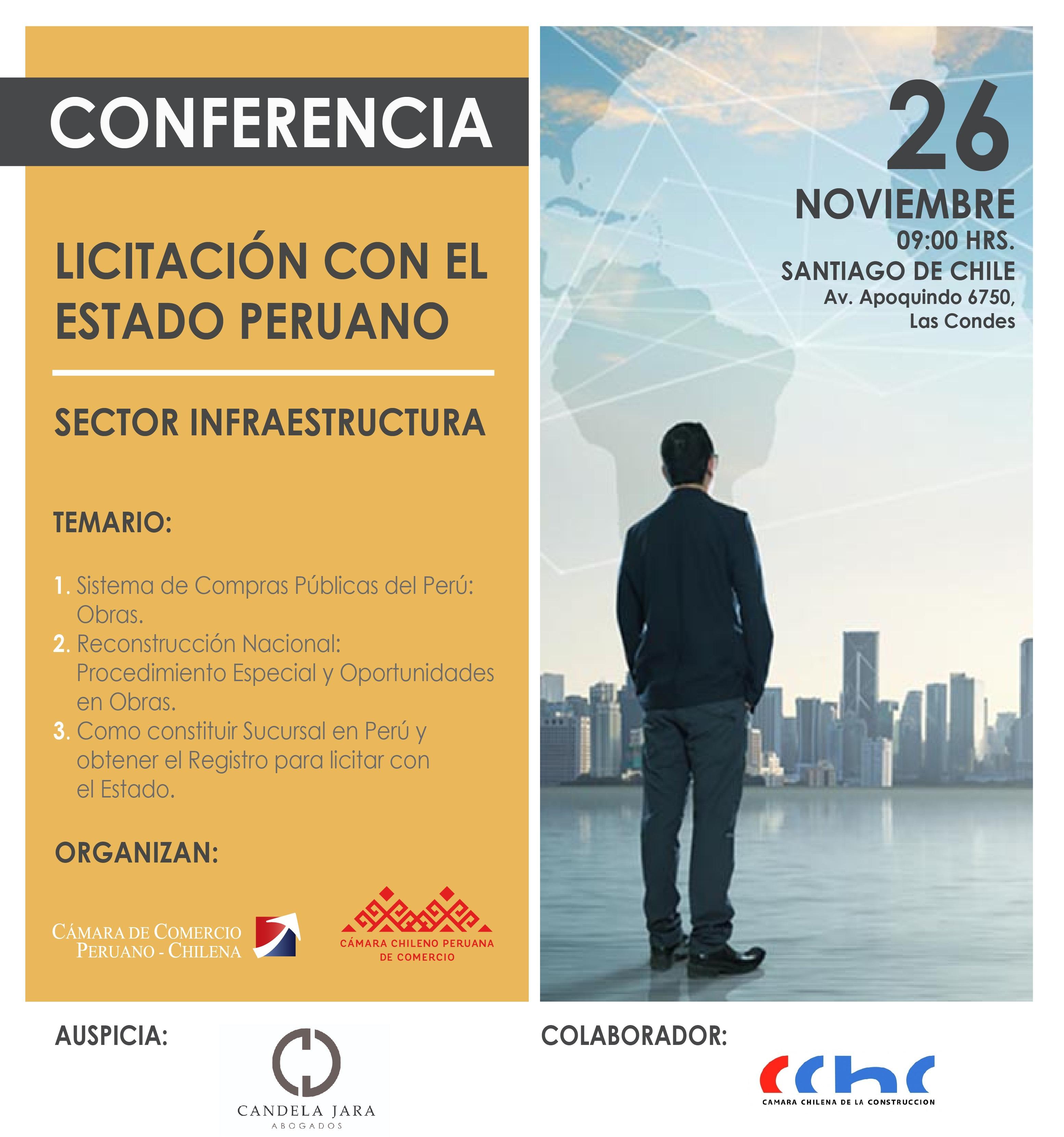 Licitación con el Estado – Sector Infraestructura