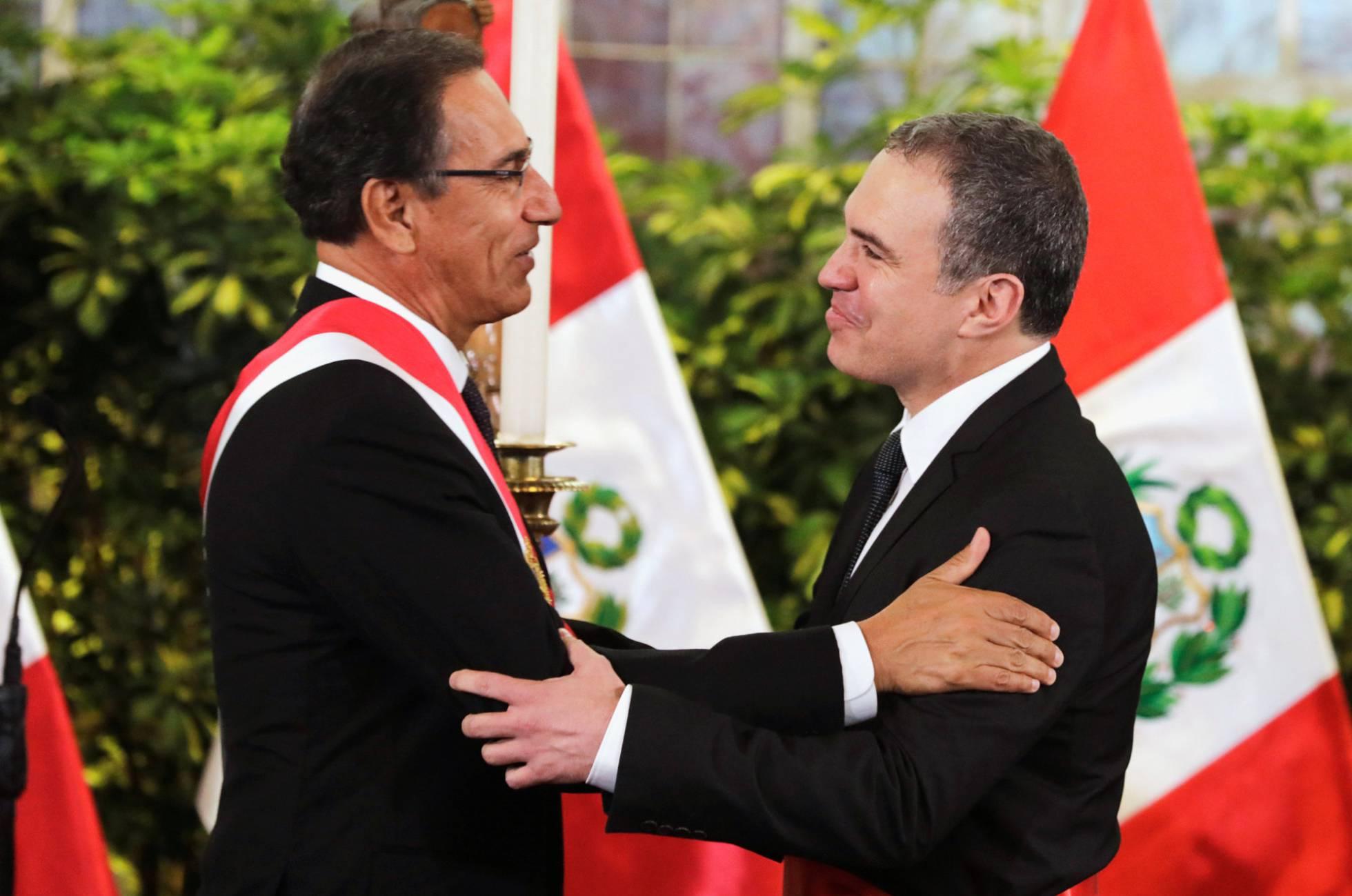 Cambios en el gabinete de ministros del Presidente Vizcarra