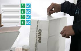 Alta participación en en referéndum de reformas constitucionales