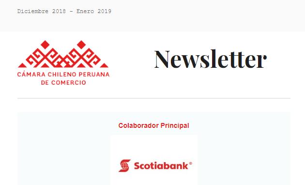 Newsletter Diciembre 2018 – Enero 2019