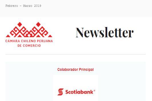 Newsletter Febrero-Marzo 2019